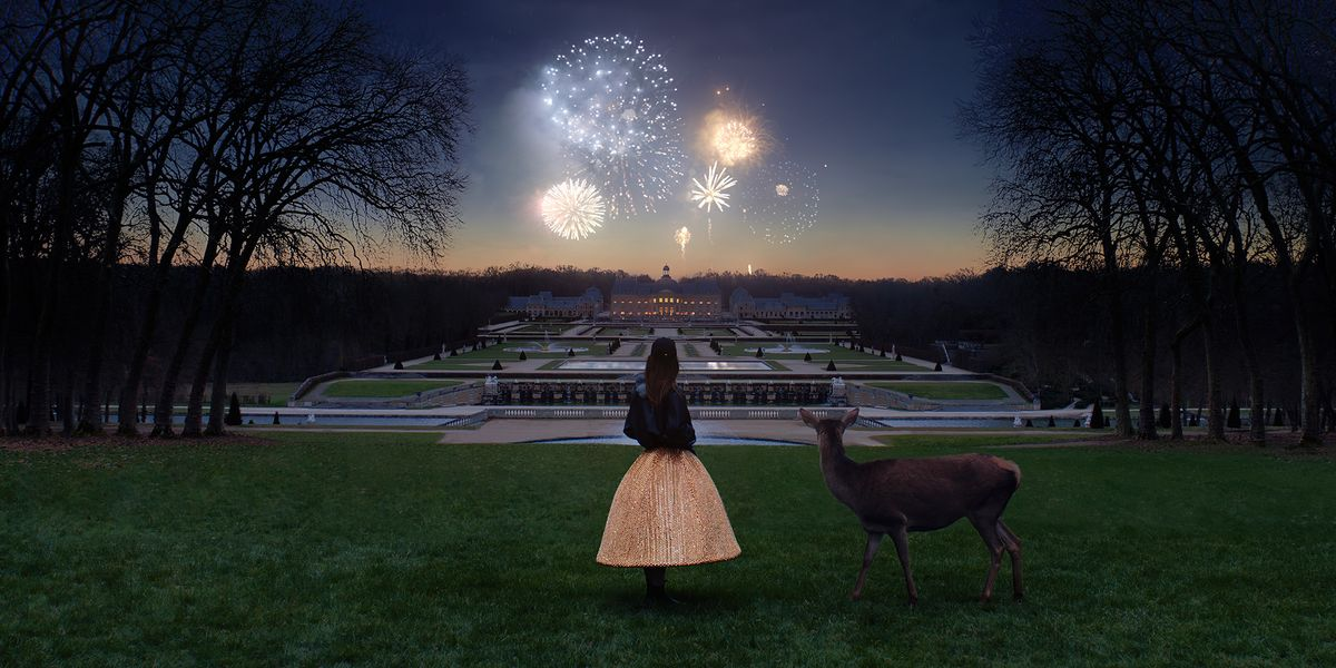 French Gardens and Fireworks Inspire the Celine Parade FW21 Collection