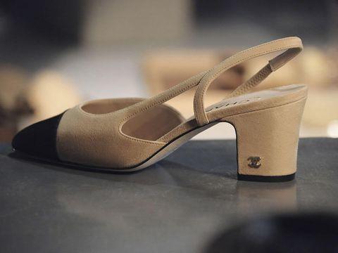 sale retailer 9b0d6 1e33c Slingback, la scarpa bicolore di Chanel