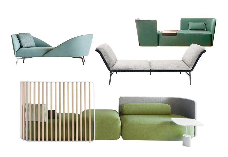 incrocio di sguardi colore poltrone e sofà