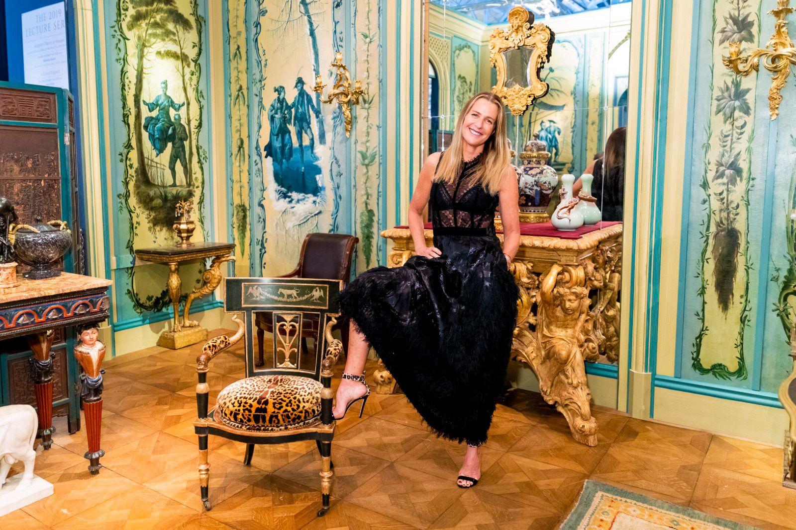 India Hicks Brings British Glam to San Francisco's Fall Show