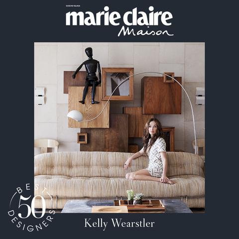 kelly wearstler, design, best designer 50, marieclaire maison italia, aprile 2021