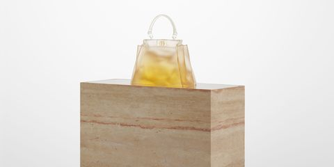 Yellow, Lighting, Paper bag, Material property, Bag, Beige, Rectangle, Packaging and labeling,