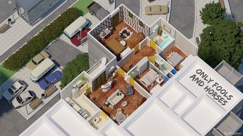 8 Floor Plans Of Iconic British Tv Homes