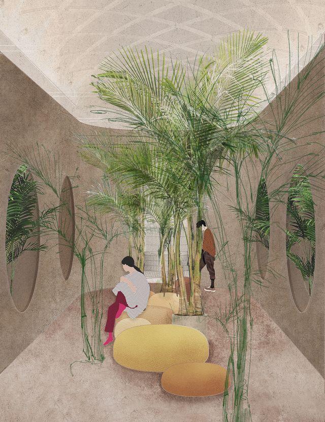fuorisalone 2021, la casa fluida, mostra di elle decor a palazzo bovara
