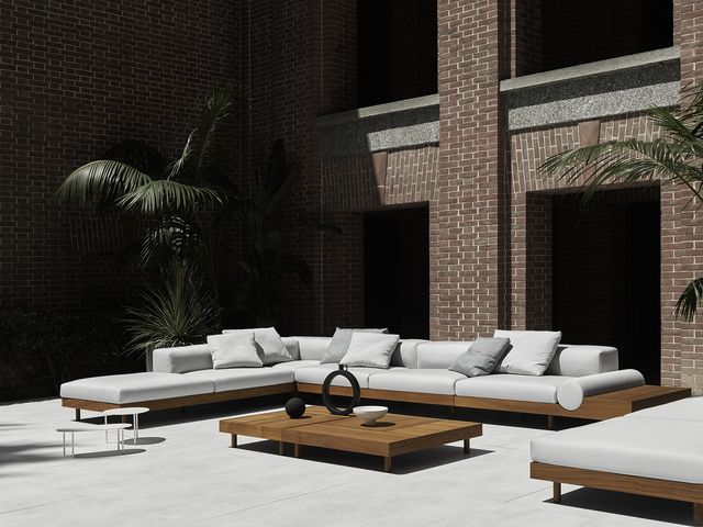 fuorisalone 2021, il nuovo divano kasbah di living divani
