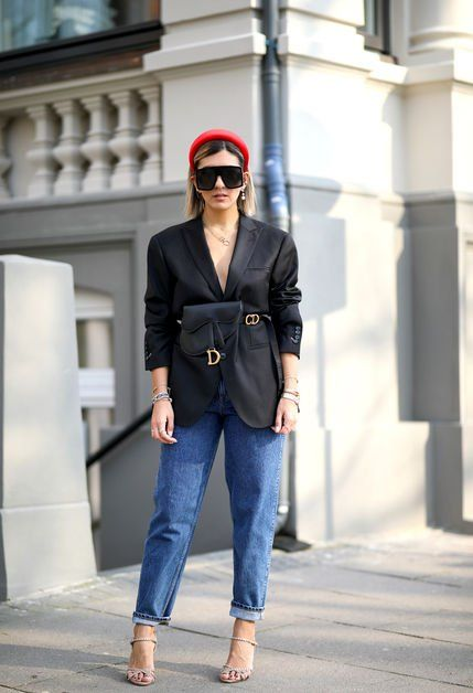 Clothing, Street fashion, Jeans, Blazer, Suit, Fashion, Blue, Outerwear, Denim, Jacket,