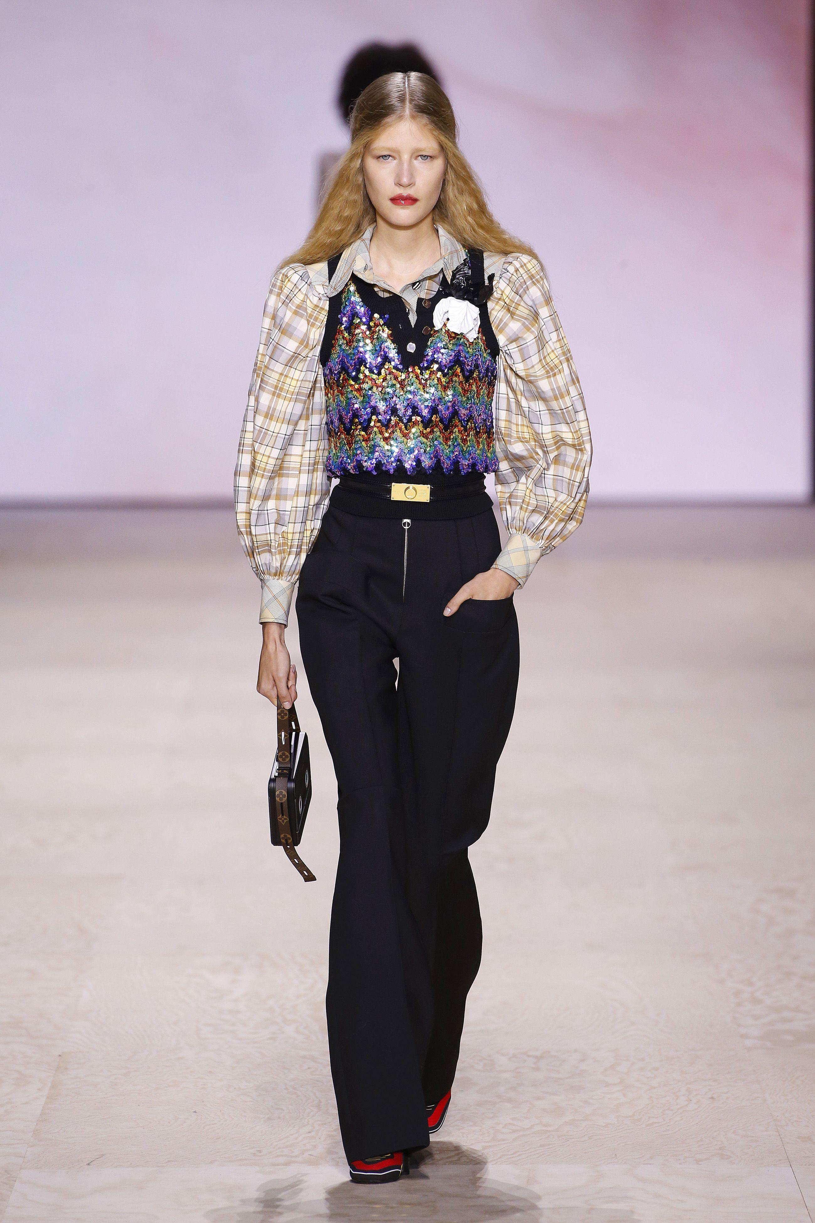 Louis Vuitton Closed Out Fashion Month With a Colorful Ode to Belle Époque Paris