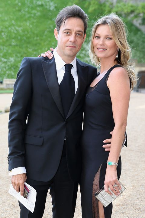 windsor, england   may 13  kate moss and jamie hince arrives for a dinner to celebrate the work of the royal marsden hosted by the duke of cambridge at windsor castle on may 13, 2014 in windsor, england  photo by chris jacksongetty images