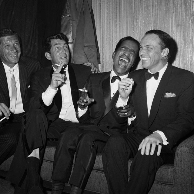 iconic photos of the rat pack