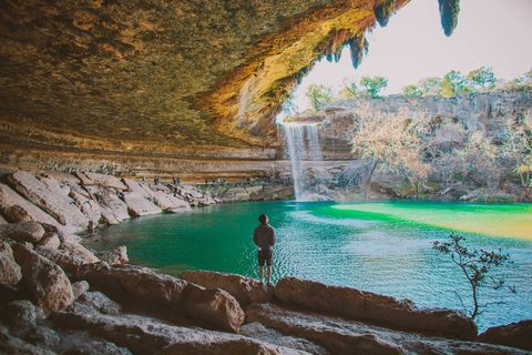 hamilton pool preserve in texas