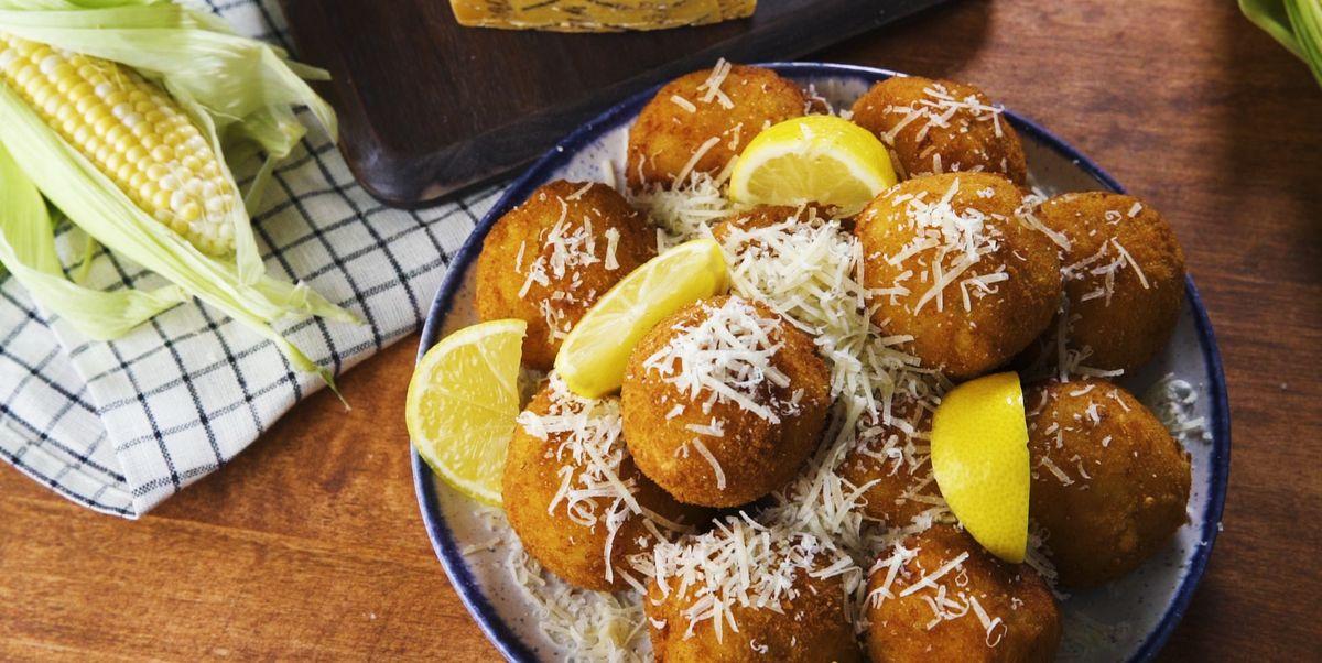 Cheesy Sweet Corn Arancini