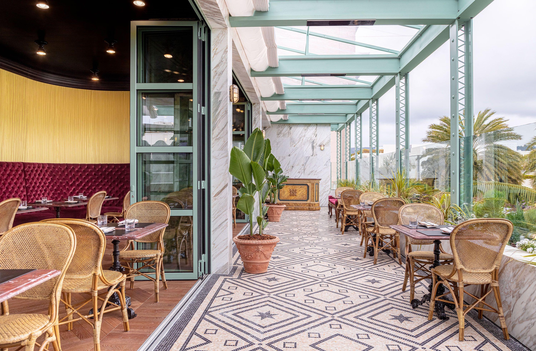 Arredamento Emilia Romagna gucci's first american restaurant, between emilia romagna