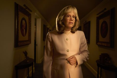 impeachment american crime story    pictured sarah paulson as linda tripp cr kurt iswarienkofx