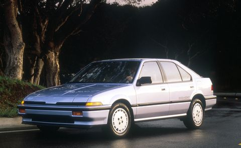 1986 Acura Integra RS five-door