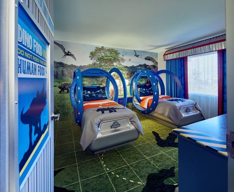 This Hotel Has The Most Incredible Jurassic Park-Themed Rooms