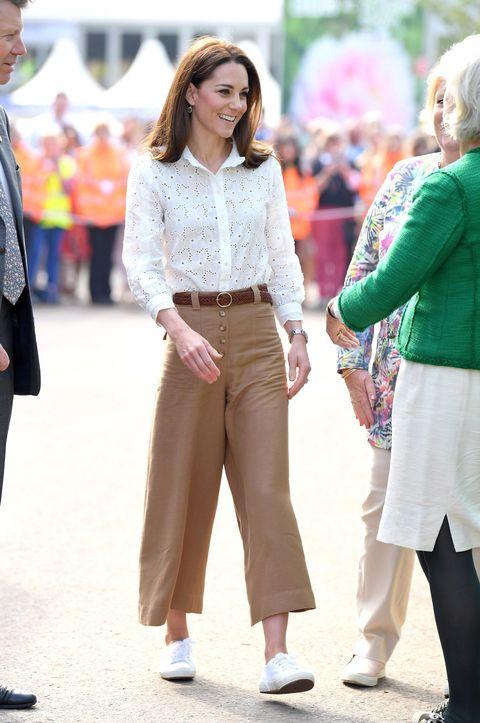 Kate Middleton, Superga, Superga 2750, 凯特王妃, 小白鞋, 皇室穿搭