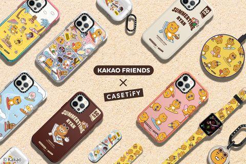 kakao friends x casetify 聯名系列