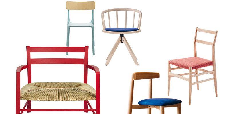 Sedie in legno colorate come abbinarle all 39 arredamento for Sedie legno colorate