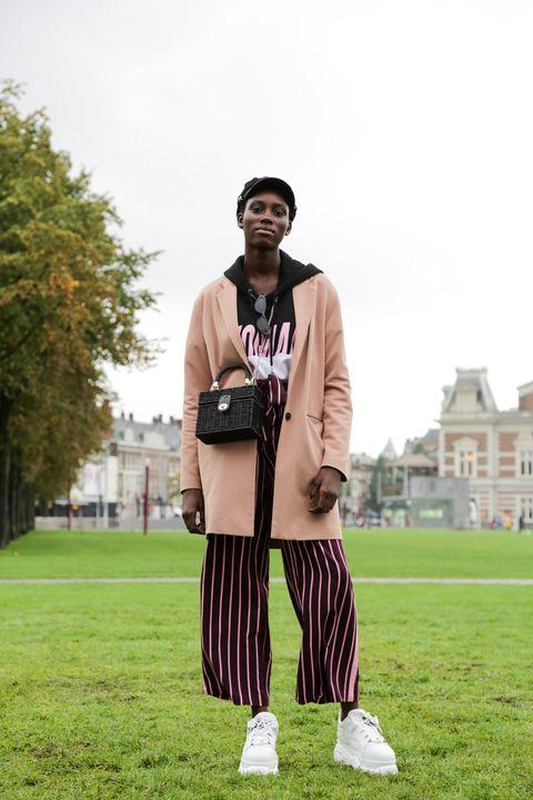 Photograph, Street fashion, Fashion, Grass, Outerwear, Photography, Lawn, Shoe, Blazer, Style,