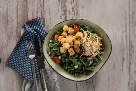 disney world vegan option the chili spiced crispy fried tofu bowl