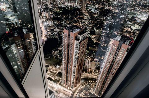 skyline, travel, tokio, marie claire maison italia, ottobre 2020