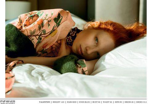 Lip, Green, Eye, Skin, Comfort, Eyelash, Bedding, Linens, Bedroom, Bed,