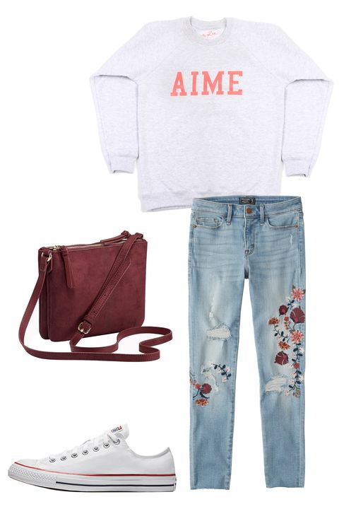 Valentine's Day Outfits - Converse V-Day Looks