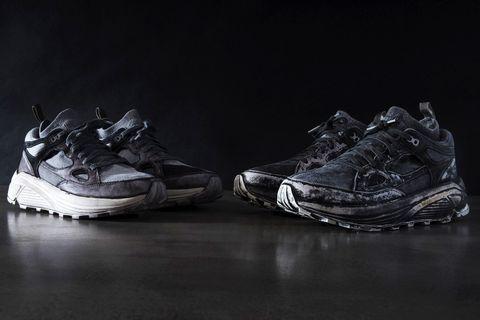 Footwear, White, Shoe, Black, Sneakers, Still life photography, Athletic shoe, Black-and-white, Photography, Monochrome,