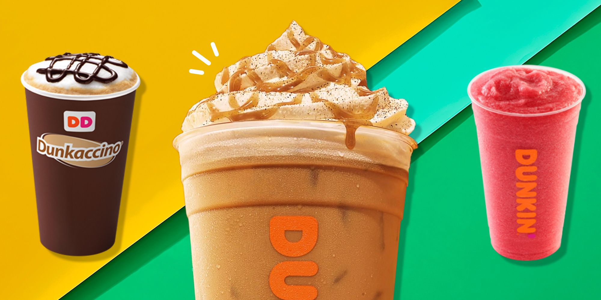 The Unhealthiest Drinks You Can Order At Dunkin'
