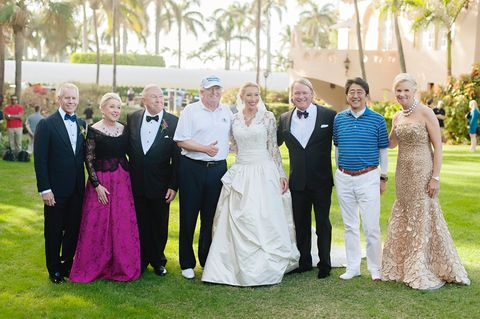 Trump Crashes Wedding.Donald Trump Crashes Wedding In Bedminster Bride Discusses Meeting