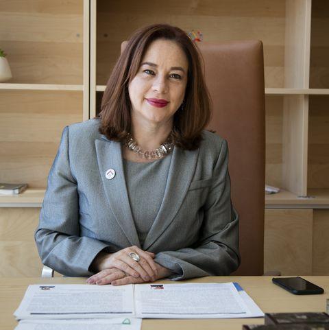 María Fernanda Espinosa Garcés, President of the 73rd session of the GA with Georgia MFA