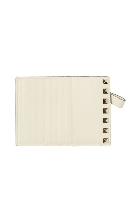 Wallet, Beige, Fashion accessory, Paper product, Rectangle, Leather,