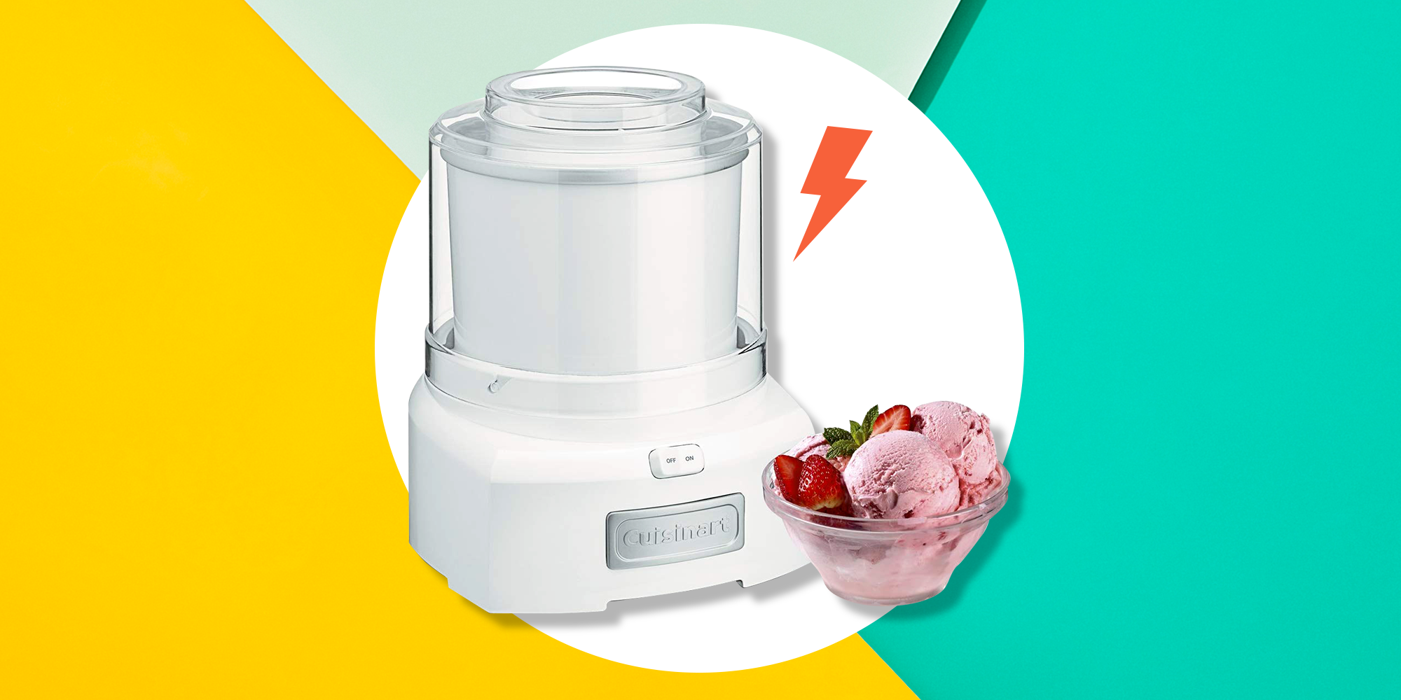 This Cuisinart Frozen Yogurt Ice Cream Maker Is Keto-Approved And Has 5,000 Positive Amazon Reviews