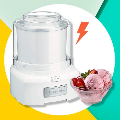 Blender, Product, Kitchen appliance, Mixer, Small appliance, Food processor, Ice cream maker, Home appliance, Frozen yogurt, Juicer,