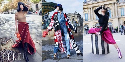 2019春夏, Saint Laurent, 小S, 小S在巴黎, 巴黎時裝週, 徐熙娣, 街拍, 穿搭,巴黎街拍, LOEWE,小S穿搭, VALENTINO, MIU MIU