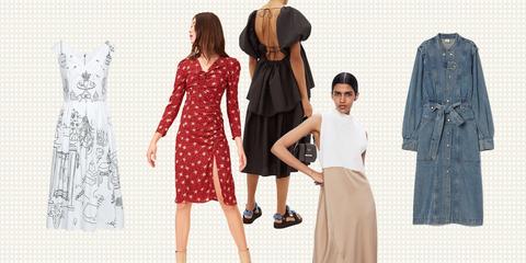 Clothing, Dress, Pattern, Day dress, Fashion, Vintage clothing, Polka dot, Pattern, Design, Fashion design,