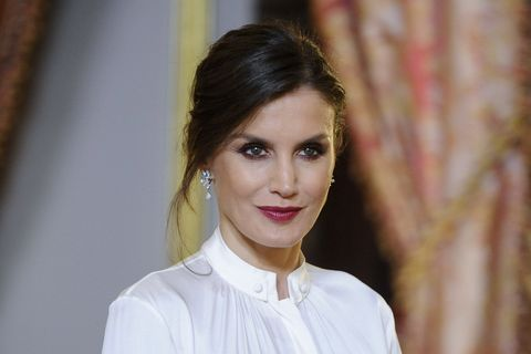 Peinado y maquillaje de la Reina Letizia