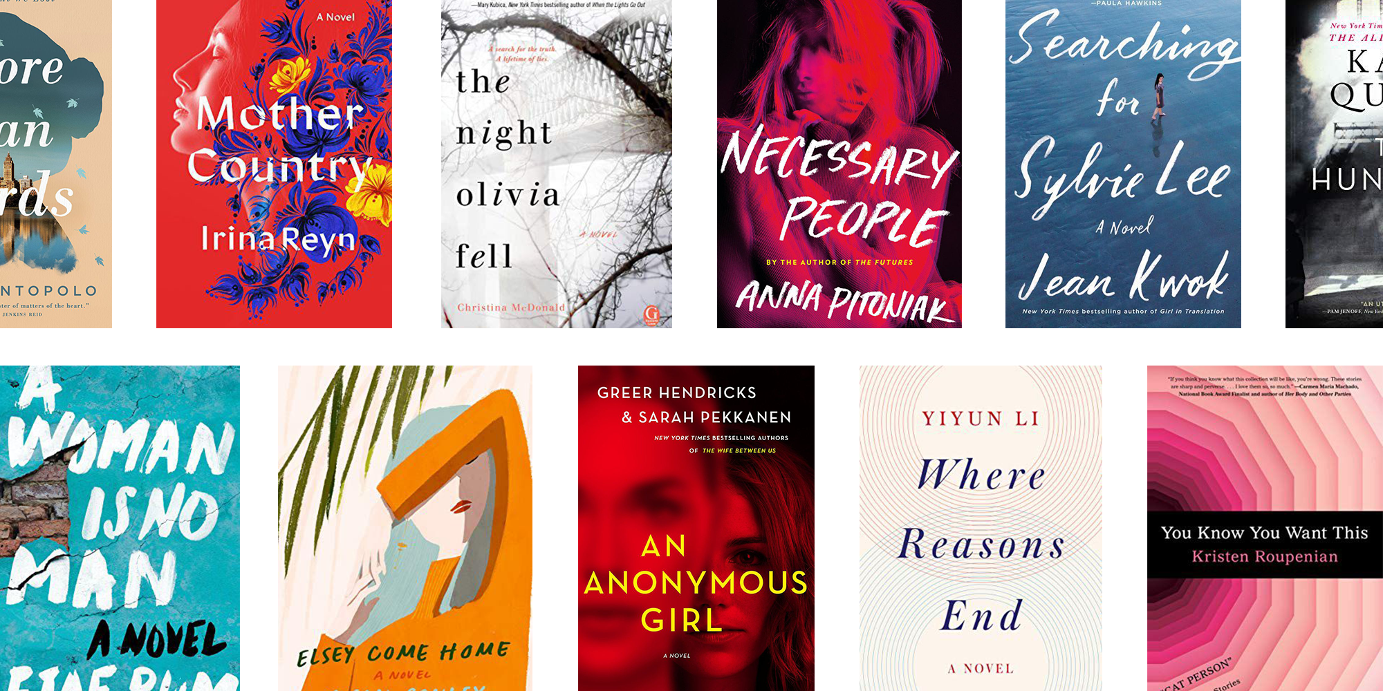 Fiction That Makes You Think About >> The Best New Women S Fiction Of 2019 23 Books By Women For Women