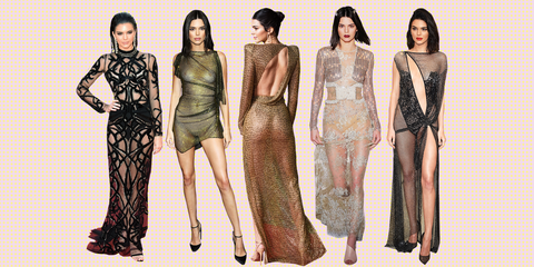 0ad4c86b037 Kendall Jenner s Most Naked Outfits - Kendall Jenner s Sexiest ...