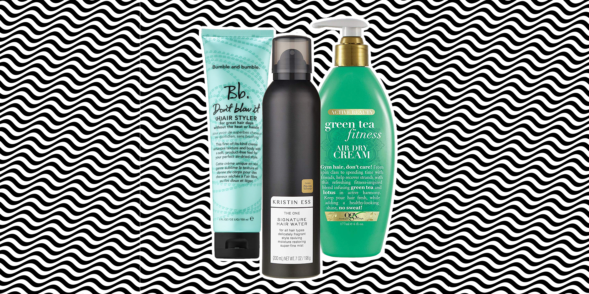 The Best Products for Air Drying Your Hair