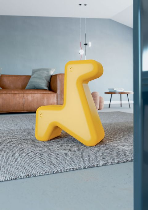 Yellow, Furniture, Interior design, Wall, Table, Design, Automotive design, Room, Material property, Chair,