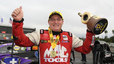 Doug Kalitta, NHRA Pomona results
