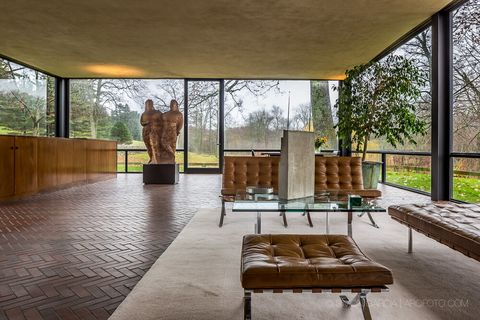 A Historical Look At Philip Johnson S Glass House