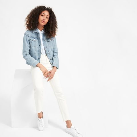409197eb7060 Everlane's Launched a Denim Jacket You'll Wear 24/7