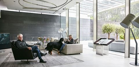 Architecture, Room, Interior design, Design, Organism, Houseplant, Plant, Building, Furniture, Glass,