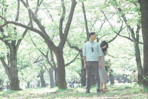 chiakiさんの代々木公園前撮り