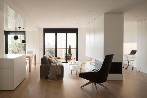 el refugio perfecto para una familia numerosa en este piso de 120 metros cuadrados