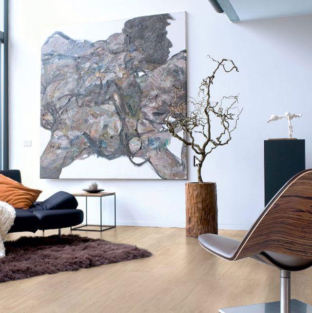 minimalismo, moderno y cálido, gracias a la sencillez de la madera