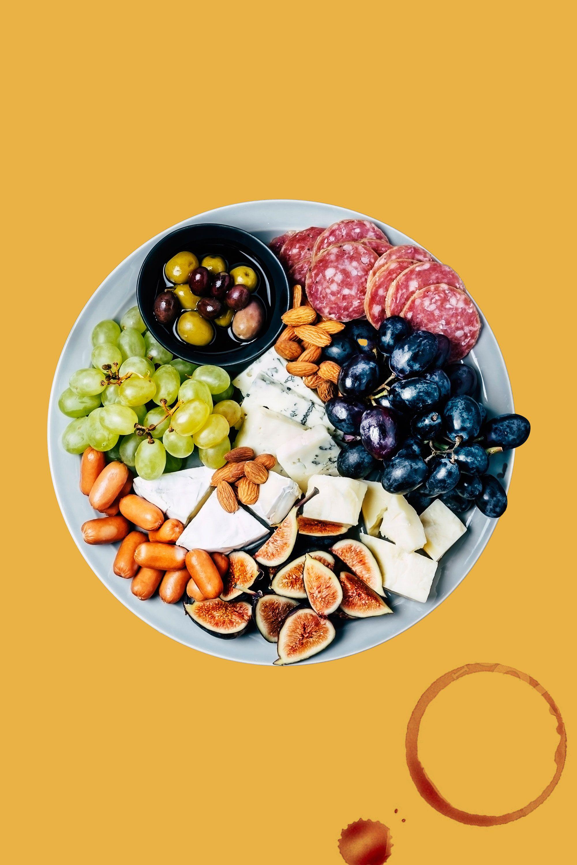 cheese platter for host gift