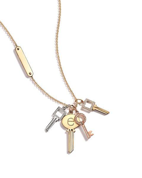 Tiffany & Co., Tiffany珠寶, Tiffany, 鑰匙項鍊, Modern Keys